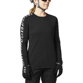 Fox Ranger Dri-Release Langarm Trikot Damen schwarz